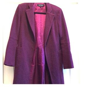 Nanette Lepore plum colored jacket
